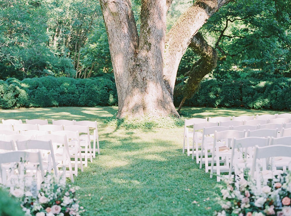 Meadowlark 1939 Garden Wedding Under a Pecan Tree