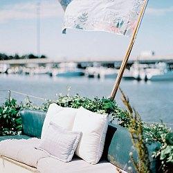 Intimate Wedding Aboard a Yacht