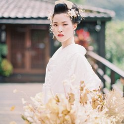 Timeless Japanese Bridal Style