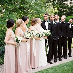 Understated Classic Wedding at Langdon Hall