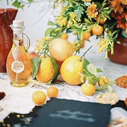 Citrus Colored Wedding Ideas