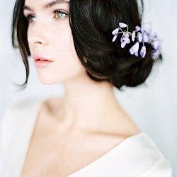 Elegant Wisteria Inspired Spring Bridals
