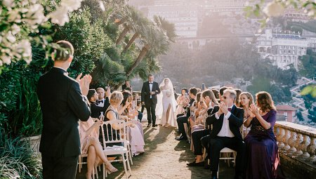 Two Day Amalfi Coast Wedding at Villa Astor