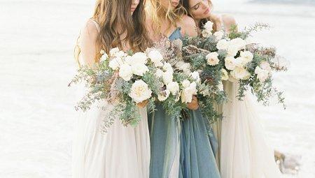 The Sirens - A Coastal Wedding Inspiration