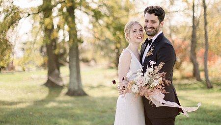 Natural Farmhouse Real Wedding