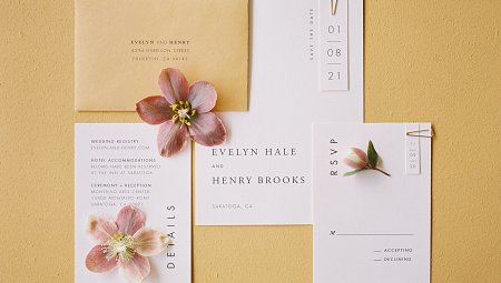 Geometric Colorful Wedding Inspiration