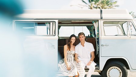 Hawaiian Honeymoon with VW Camper Van