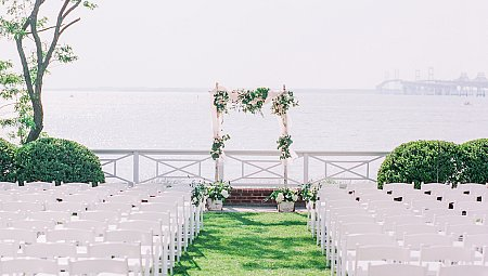 Waterfront Wedding for Frontline Workers Brittany & Ben