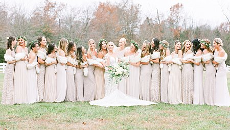 Whimsical, Winter Wonderland Wedding