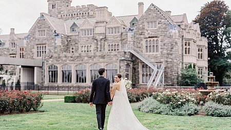 Black Tie Estate Wedding with Outdoor Ceremony