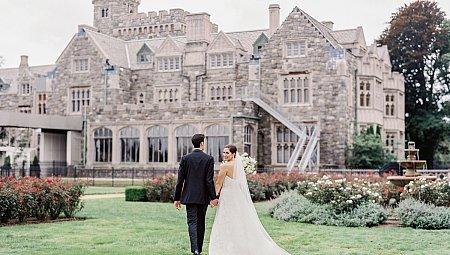 Black Tie Estate Wedding with Outdoor Ceremony
