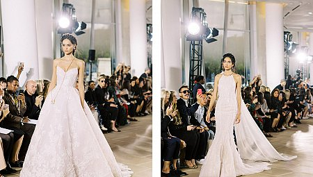 BRIDAL FASHION WEEK 2020 - Ines Di Santo, Justin Alexander and Lee Grebenau