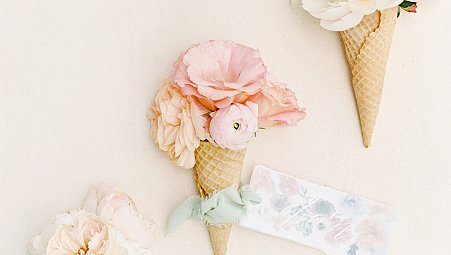 Pastel Wedding Ideas with Ice Cream Theme