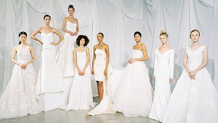 Bridal Fashion Week 2020 - Amsale, Anne Barge and Berta