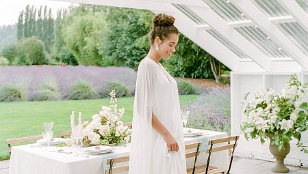 The Best Bridal Cape You'll See This Spring