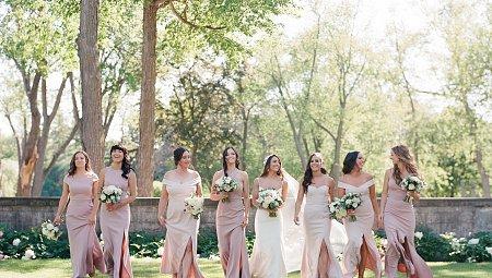 19 Best Bridesmaids Dresses For The Fine Art Bride
