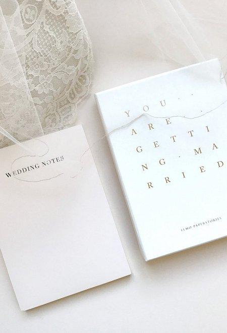 Wedding Notes - Notepad