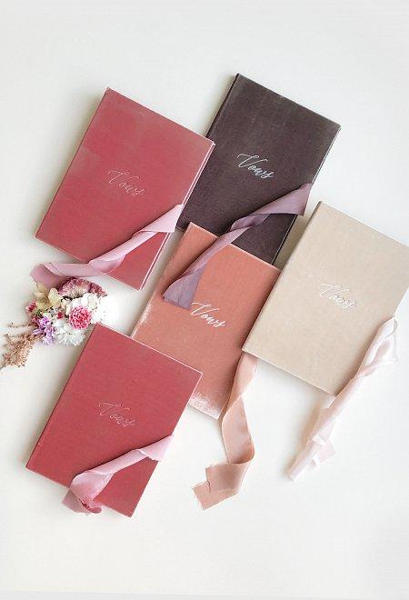 Velvet Cover Vows Books