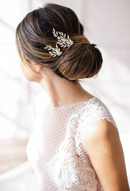 Calvina 2-piece hair clip set