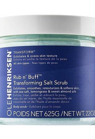 Rub N Buff Transforming Salt Scrub